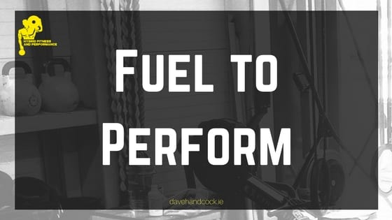 fuel to perform