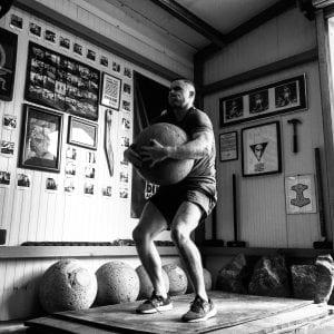Atlas Stone Strongman Training